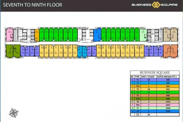 MMR 52nd Avenue Business Square Floor Plan